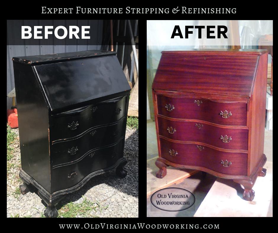 Furniture Refinishing Repair Tri, Refinishing Old Furniture