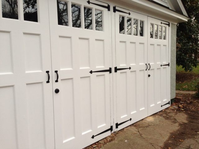 Custom Doors for Carriage House