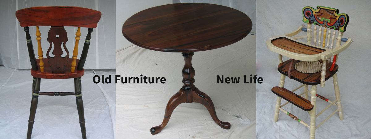 Worn or Antique Furniture Can Have a New Life