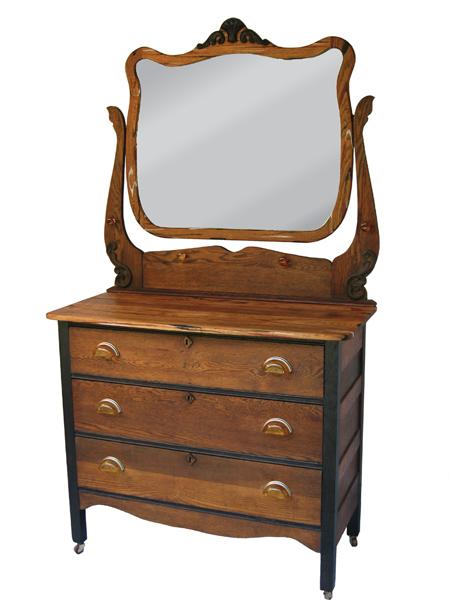 Antique Oak Dresser Amber Pulls Old, Oak Furniture Drawer Handles