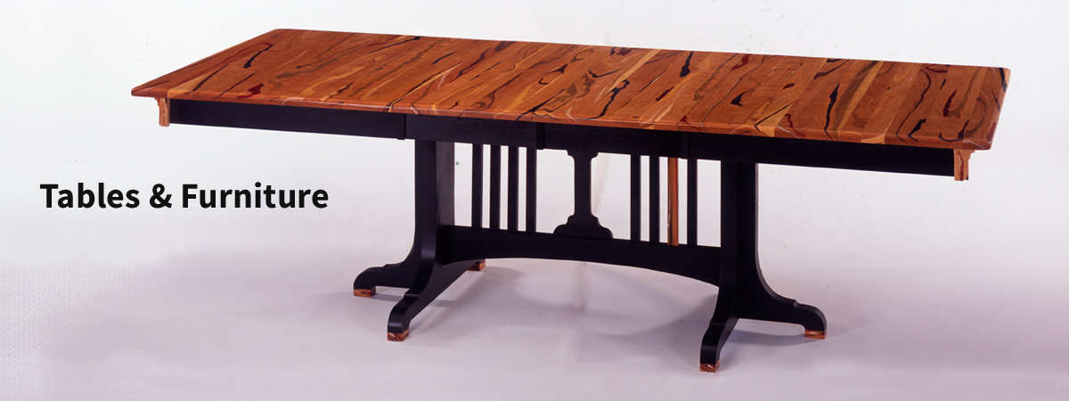 Cherry Wood Extension Table