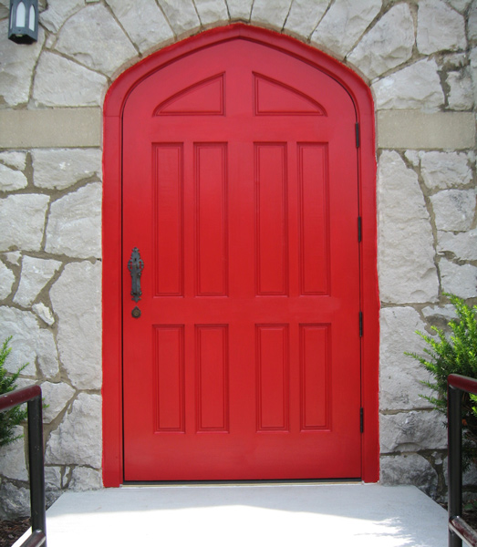 Outside of Custom Exterior Door