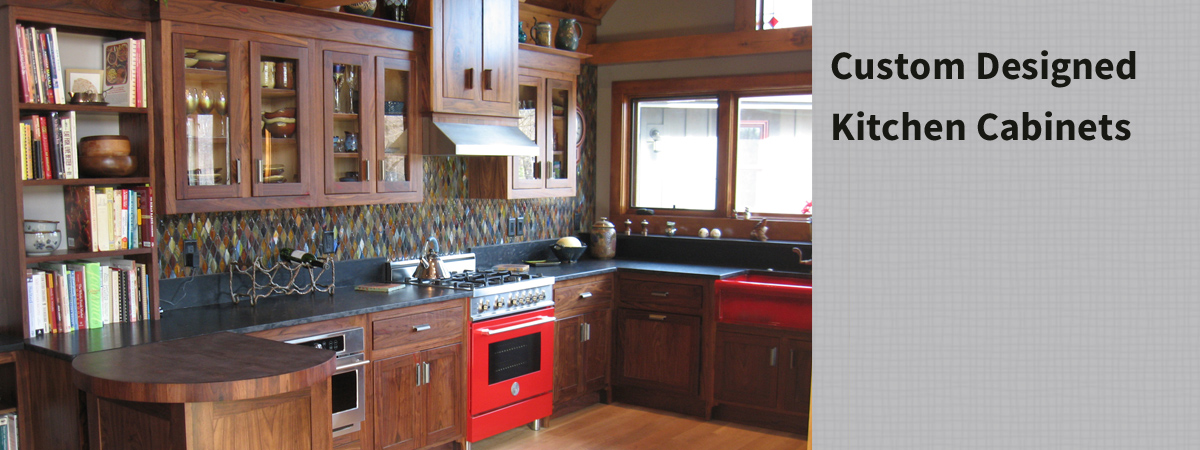 Custom Designed & Built Kitchen Cabenets