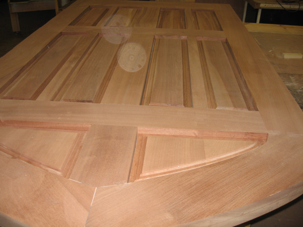 Raised Panels in Custom Exterior Doors