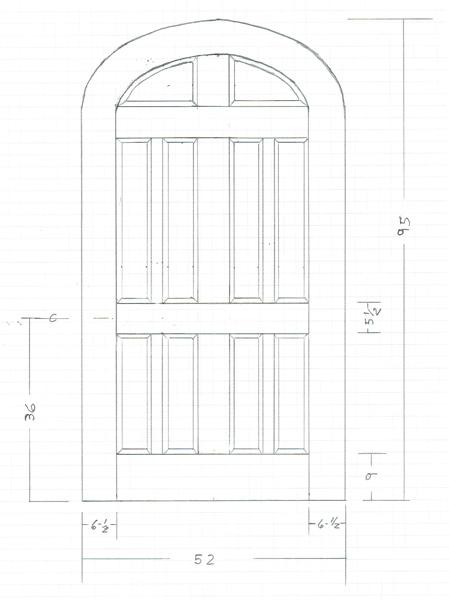 We Build Custom Wood Doors | Old Virginia Woodworking