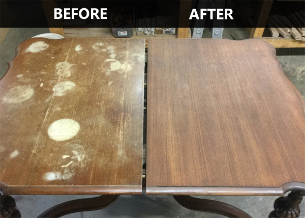 Furniture Stripping Refinishing Table Top Old Virginia Woodworking